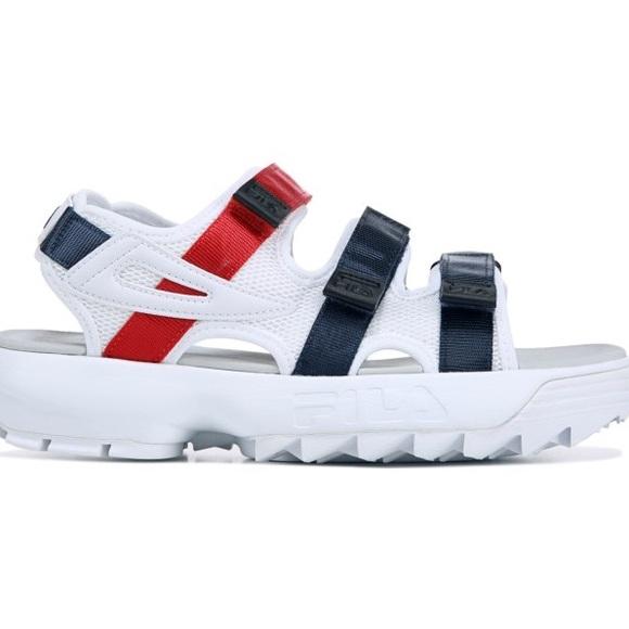 chunky sandals fila